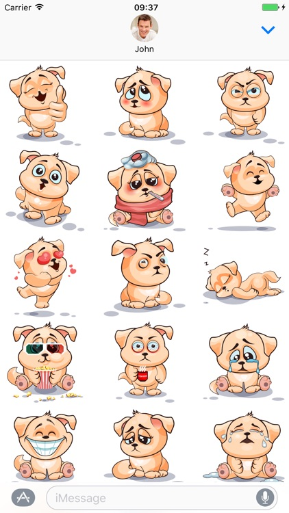 Dog - Stickers for iMessage