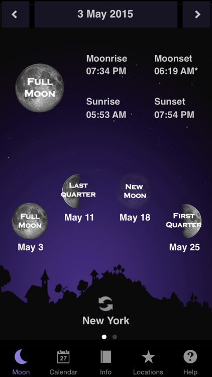 Moon Calendar screenshot-0