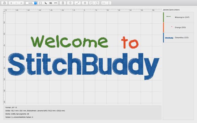 StitchBuddy Screenshot