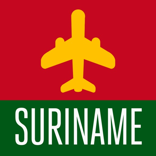 Suriname Travel Guide and Offline City Street Map