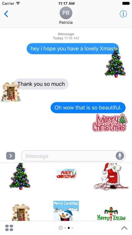 Merry Christmas & Happy New Year Stickers 2016