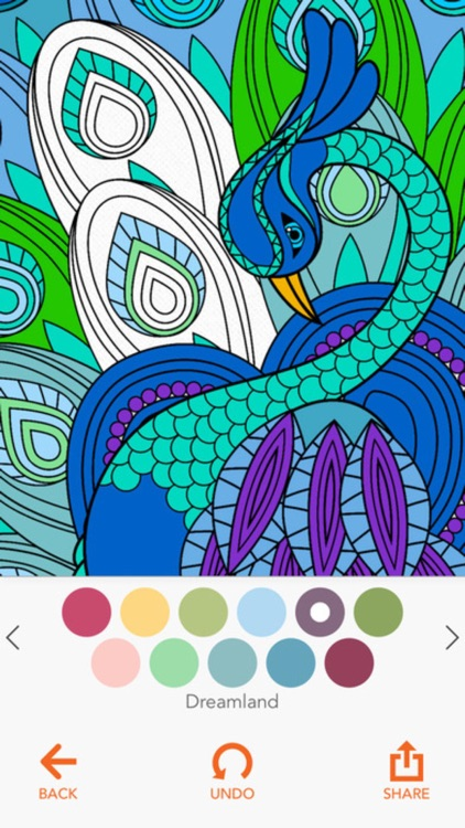 Coloring Book -  for Adults and Girls Paint Sketch screenshot-3