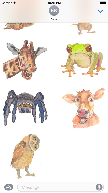 Grumpy Animals by Rhea Dennis screenshot-4