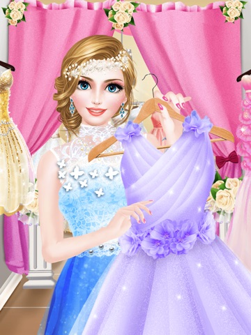 Bridal Boutique Shop Beauty Salon Wedding Makeup Dressup And