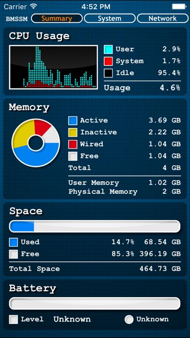 Battery Memory System Status Monitorのおすすめ画像1