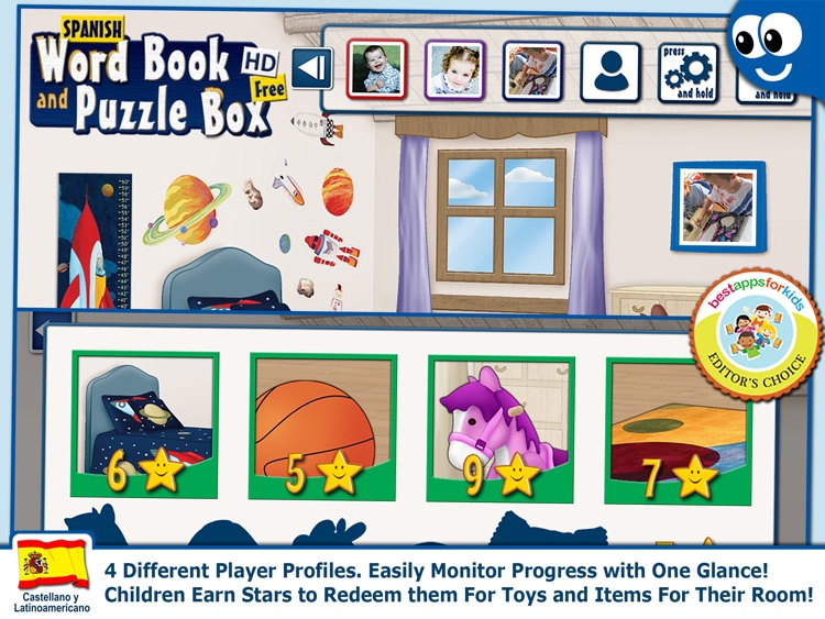 Spanish Words and Puzzles Lite screenshot-3