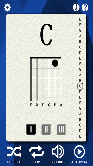 Guitar Notes Flash Cards screenshot two