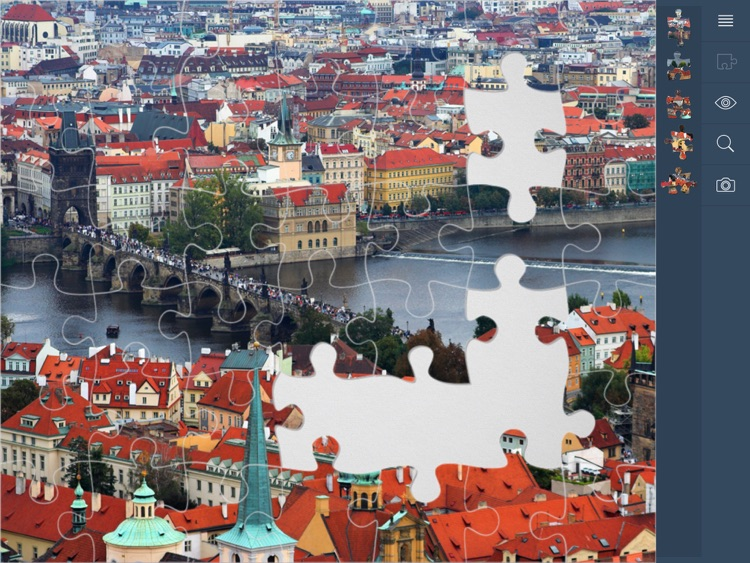 Jigsaw Puzzles Cities screenshot-3