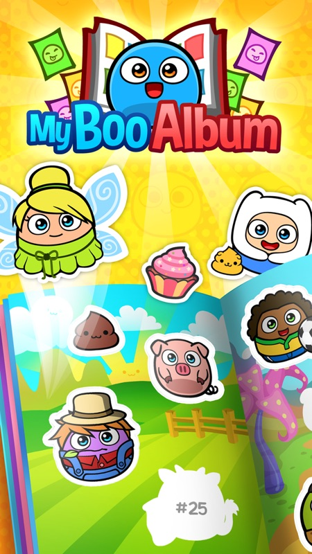 My Boo Album - Virtual Pet Sticker Book for Kids Online Hack Tool