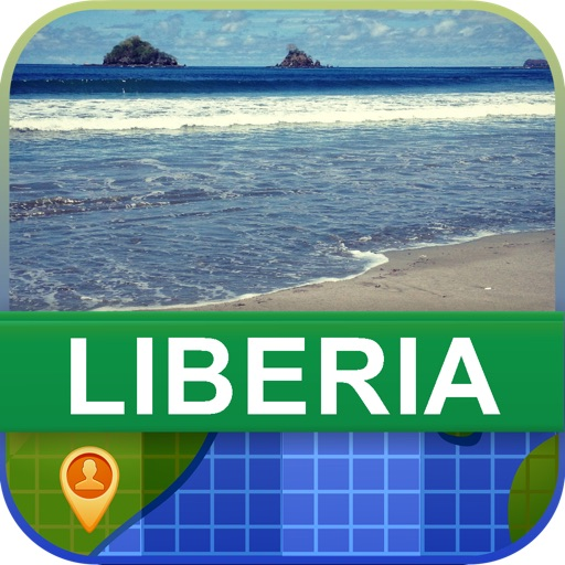Offline Liberia Map - World Offline Maps