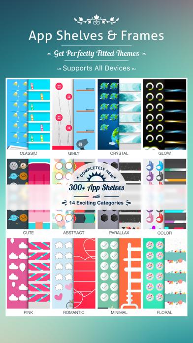 App Frames & Shelves Pro - DIY Home Screenのおすすめ画像1