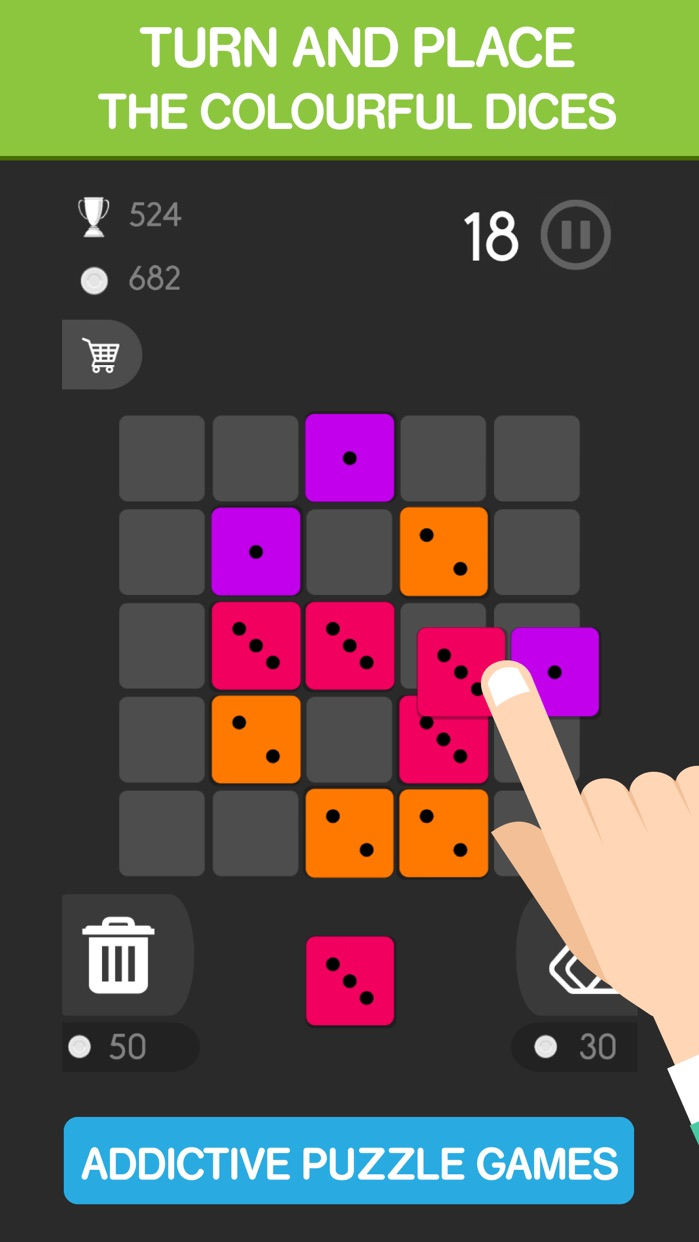 Mash Cube Crusher Squares Screenshot