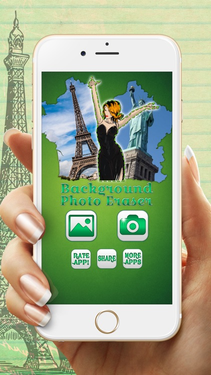 Photo Background Eraser – Remove, Replace & Blend