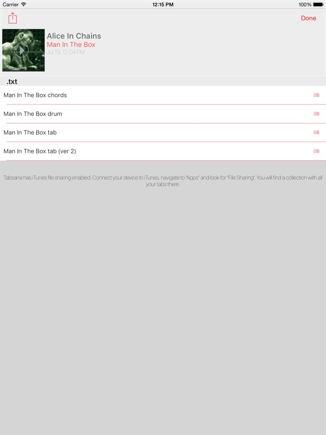 Tabsana - Tabs identifier and chords finder on the App Store