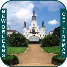 New Orleans_Louisiana Offline maps & Navigation