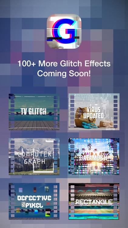 Glitch Art- Video Effects Edit screenshot-4