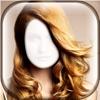 发型 对于 女人 - 虚拟 美容院 同 相框 对于 精彩 改造 照片编辑软件