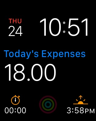 Next for iPhone - Track your expenses & finances Screenshot