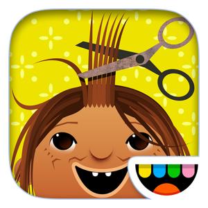 Toca Hair Salon Education app