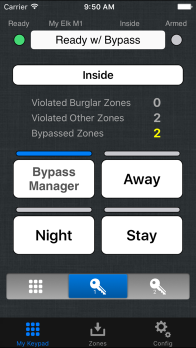Ekeypad Alarm review screenshots