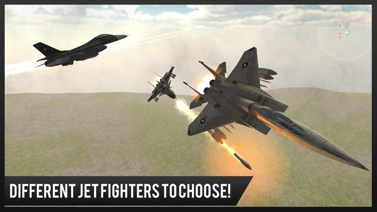 Modern Jet Air Strike Combat Shooter : Delta Force screenshot-3