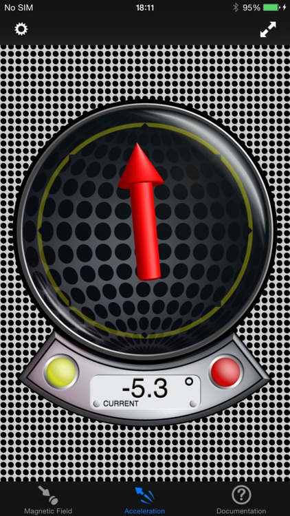 MagnetMeter - 3D Vector Magnetometer & Accelmeter screenshot-3