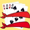 Blindfold Crazy Eights Friends - iPhoneアプリ