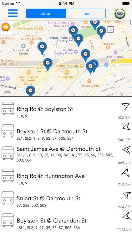 Boston Public Transport