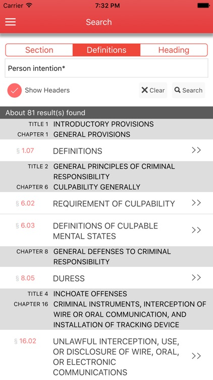 Texas Code of Criminal Procedure 2017 screenshot-3