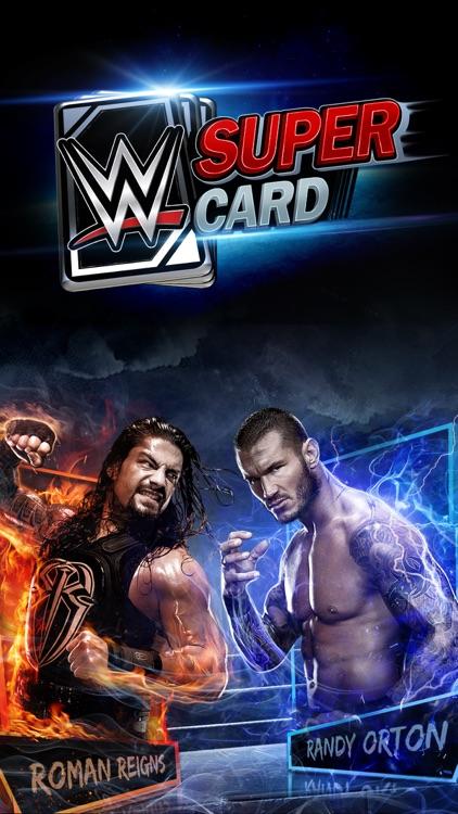 WWE SuperCard: Wrestling Action & Card Battle Game screenshot-0