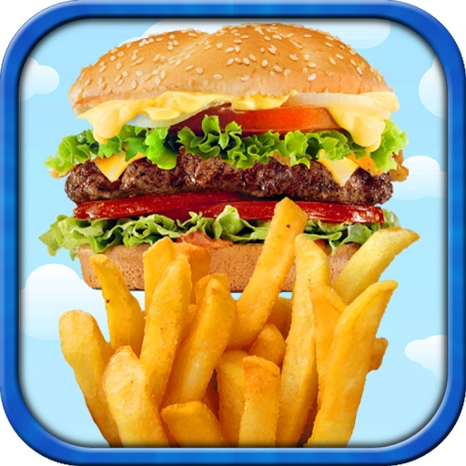 Fast Food - Kids Junk Food Maker Games