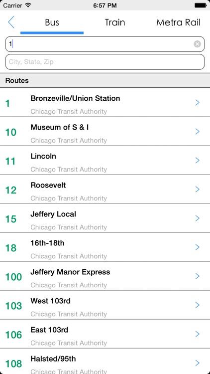 Transit Tracker - Chicago (CTA) screenshot-4