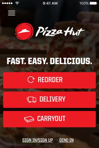 Pizza Hut screenshot 1