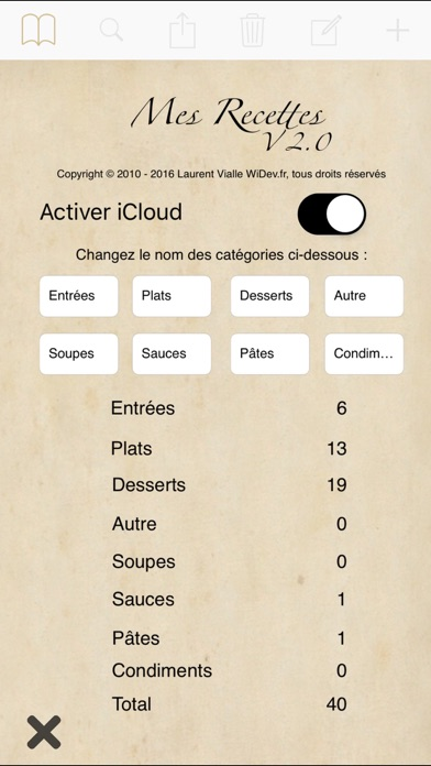 My Recipes Hd review screenshots