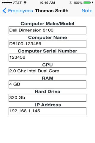 Screenshot of IT Organizer