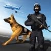 机场警察毒品嗅探器模拟负载