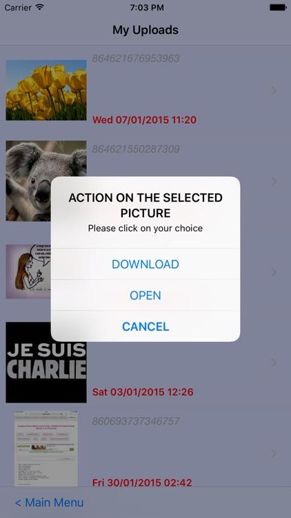 Your Albums, photos and Videos screenshot-4