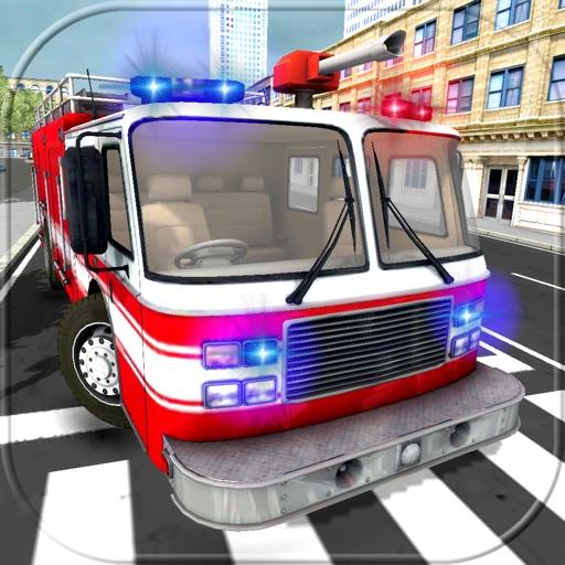 112 МЧС Пожарный Спасатель [911 Rescue Fire Truck Simulator 3D]