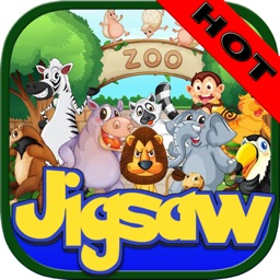 Zoo Animals Jigsaw - Puzzle Box Learning For Kid Toddler and Preschool Games