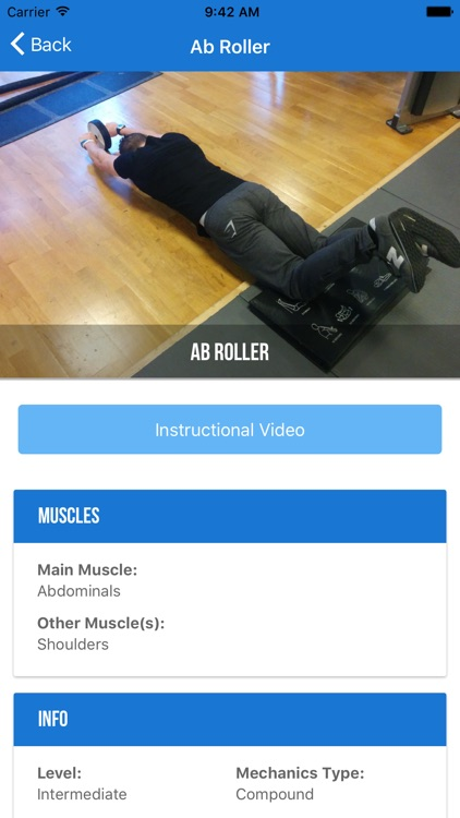 Bodybuilding Exercises and Workouts screenshot-3