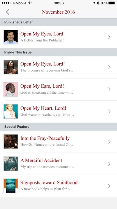 The Word Among Us Mass Edition app image