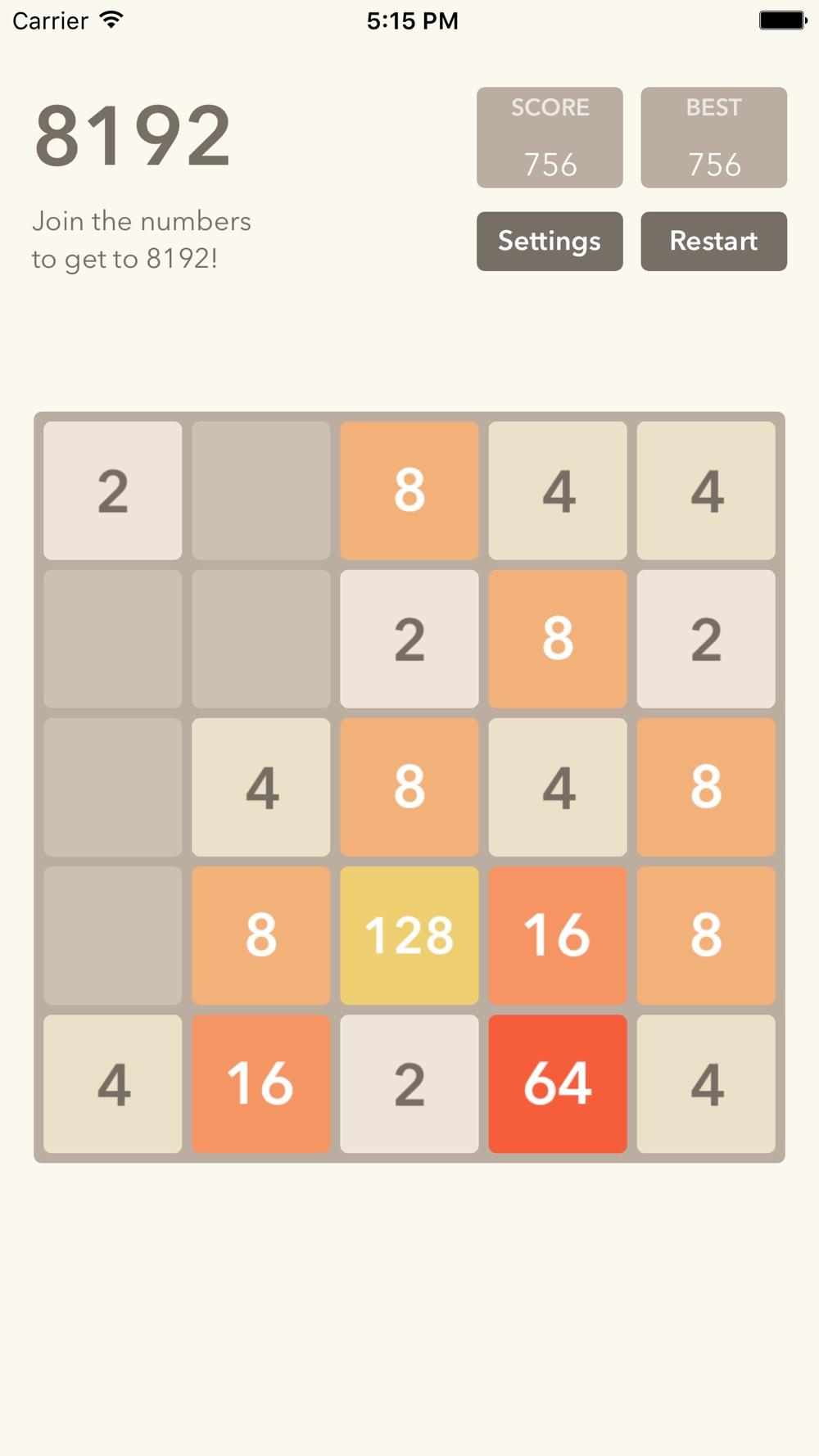 8192 game – swipe to challenge numbers free Cheat Codes