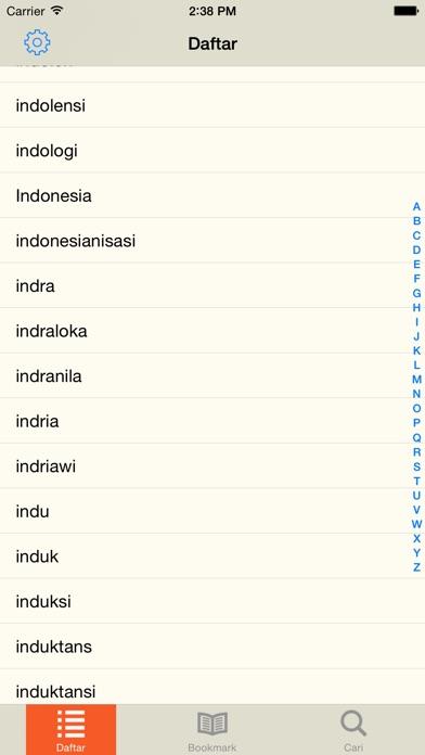 Kamus Besar Bahasa Indonesia iPhone