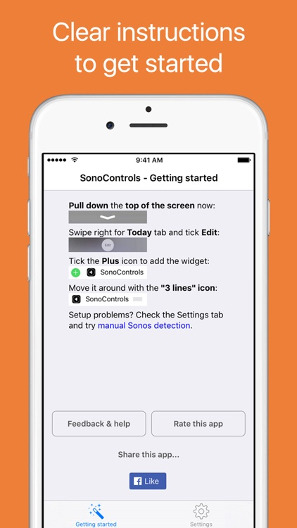 SonoControls - controller widget for Sonos screenshot-4