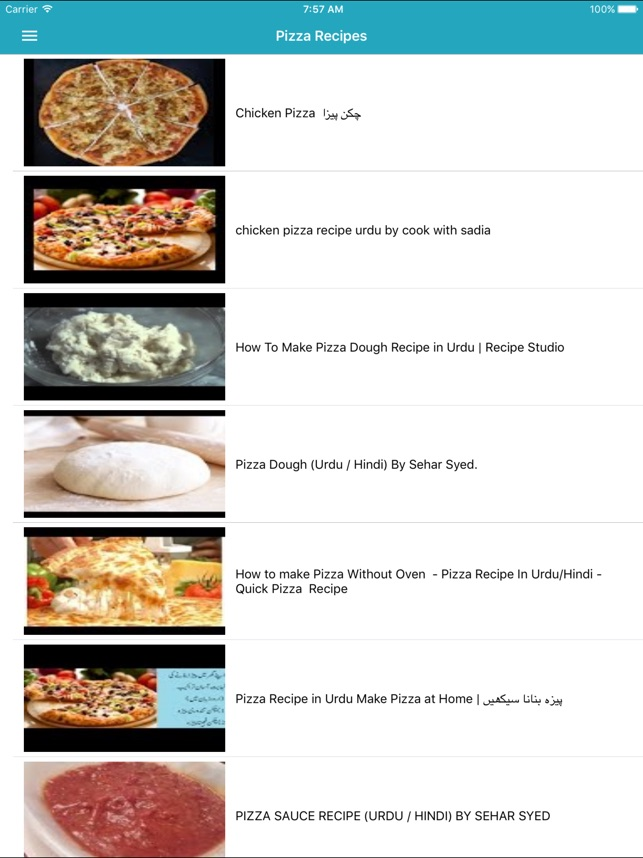 Pizza recipes in urdu on the app store forumfinder Choice Image