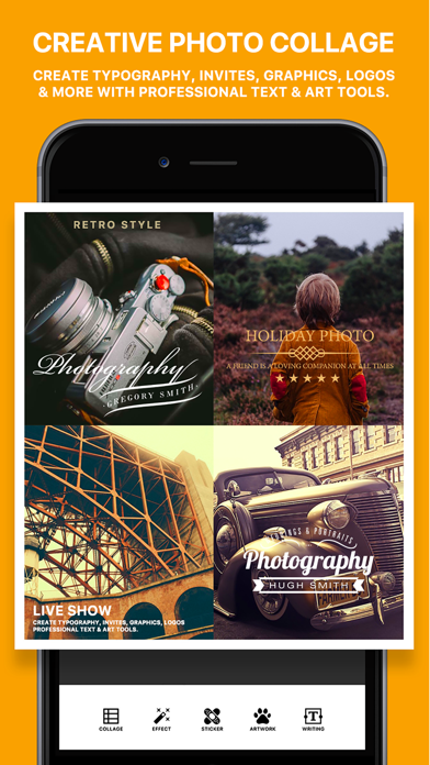 Photo Poster - Photo Effects & Cool Image Filters for Instagram Snapchat Prisma ScreenShot3