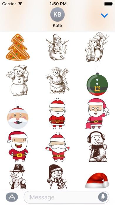 Christmas Sticker Pack - 2017 screenshot three