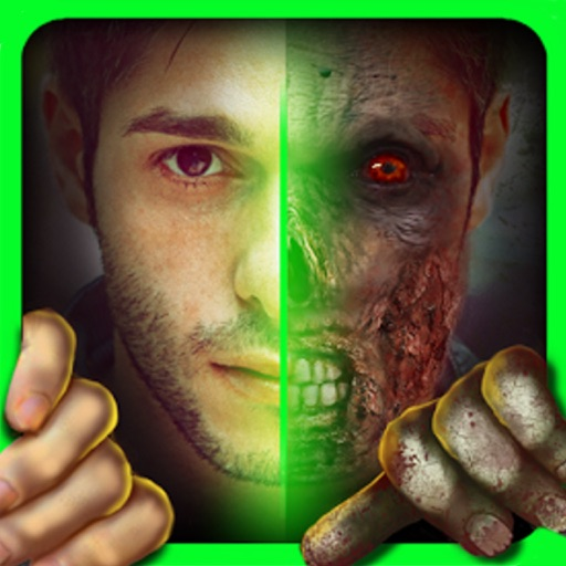 Make Me Zombie : Face Sticker Maker Booth
