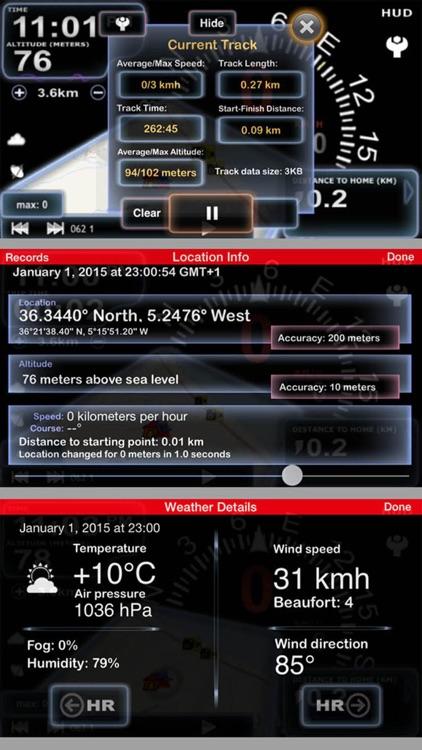 aSmart HUD 3D +SpeedCams screenshot-3