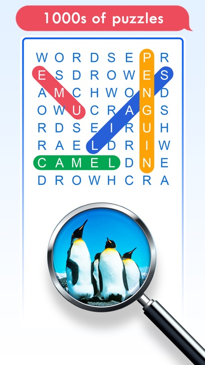 100 PICS Word Search Puzzles screenshot-2